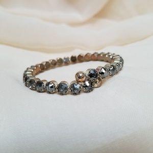 Jewelry - Grey Jeweled Bracelet